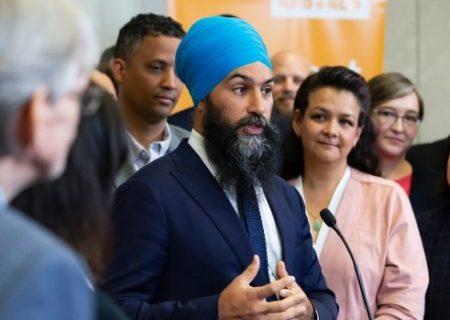 رهبر حزب NDP نمی تواند بگوید دولتش چه زمان کسری بودجه را تامین می کند