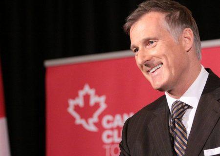 ماکسیم برنیر رهبر حزب مردم کانادا می گوید مرزها را دیوار می کشد