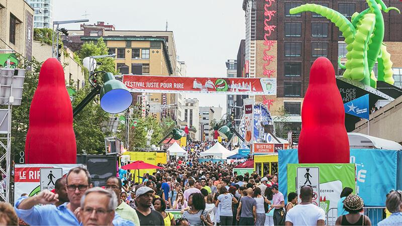 حمایت دولت کانادا از فستیوال فقط برای خنده