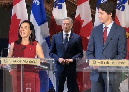 وعده ۵۰ میلیون دلاری ترودو برای ساخت بزرگترین فضای سبز شهری کانادا در مونترال
