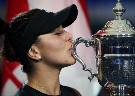 جشن قهرمانی بیانکا آندرسکو، قهرمان تنیس در میسی ساگا