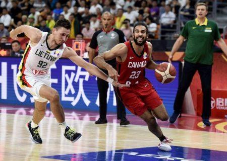 حذف تیم بسکتبال کانادا توسط لیتوانی در مسابقات جام جهانی