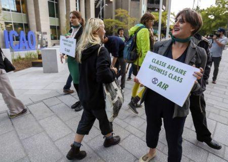 دوست داران محیط زیست خواستار اعمال مالیات بر سوخت پروازها