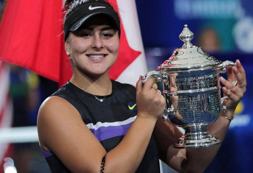 ستاره تنیس کانادایی موفق به کسب جایزه لو مارش شد