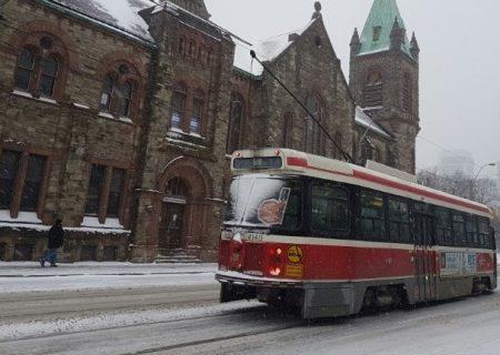 بازنشسته شدن ترامواهای قدیمی در شهر تورنتو