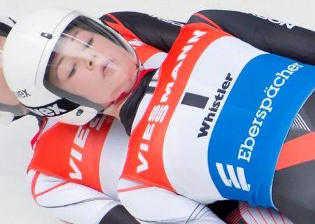نوجوانان کانادایی اولین زنان حاضر در مسابقات جهانی لژ سواری دو نفره