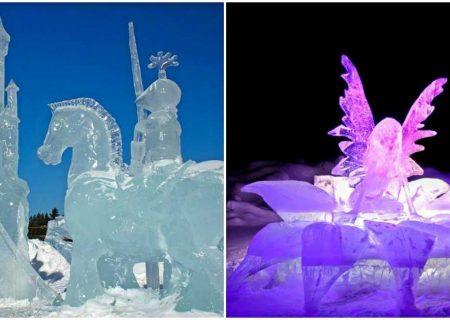 فستیوال مجسمه های یخی سن- کوم