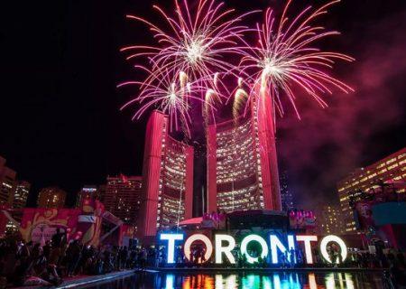 برگزاری جشن های شب سال نو در تورنتو