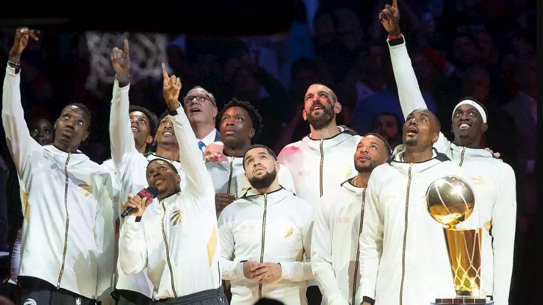 تیم رپترز، برای اولین بار، تیم برتر سال کانادا شد