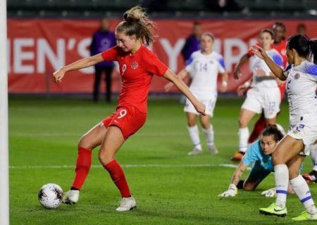 راه یابی فوتبال زنان کانادا به المپیک