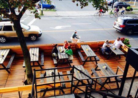 تابستان امسال با کافه های روباز در مونترال
