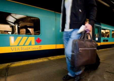 از سرگیری خدمات VIA Rail