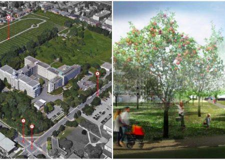 فضای سبز عمومی جدید در مونترال