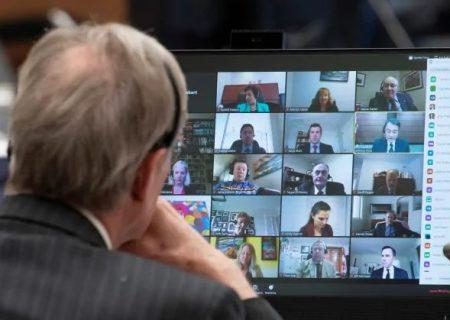 اولین جلسه مجازی پارلمان کانادا با برنامه زوم