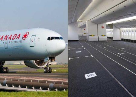 هواپیماهای مسافری در خدمت حمل تجهیزات پزشکی