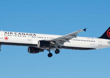 لغو پروازهای ایر کانادا به آمریکا به مدت یک ماه