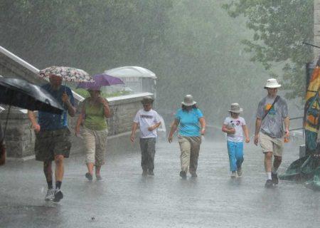 سراسر کانادا با باران به استقبال تابستان می رود!