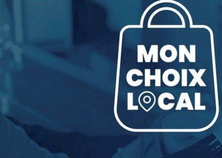 با برنامه Mon choix local خرید کنید