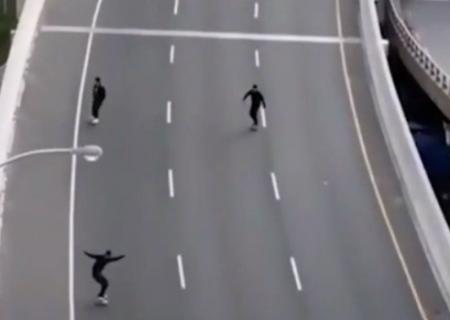 ویدیو: جریمه پلیس، عاقبت اسکیت سواری در بزرگراه تورنتو !