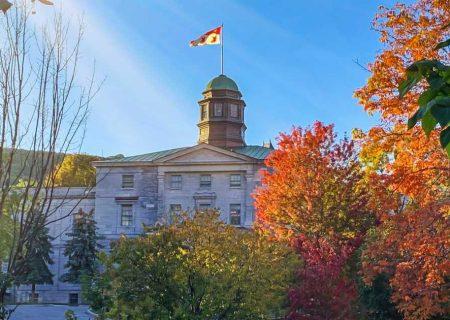 برگزاری آنلاین ترم پاییز ۲۰۲۰ دانشگاه مک گیل