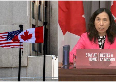 بازگشایی مرز آمریکا برای کانادا خطر دارد