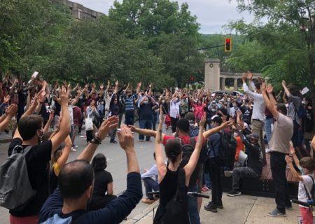 تجمع اعتراضی علیه اصلاحات جدید مهاجرتی کبک