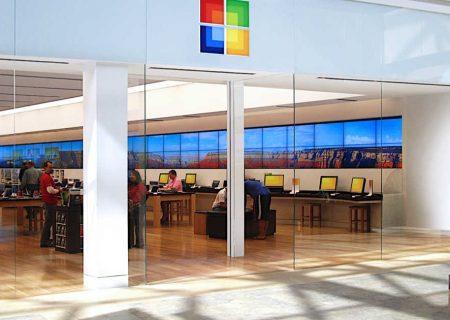 فروشگاه های مایکروسافت دیجیتالی می شود