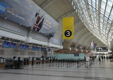 افت ۹۸ درصدی مسافران فرودگاه پیرسون