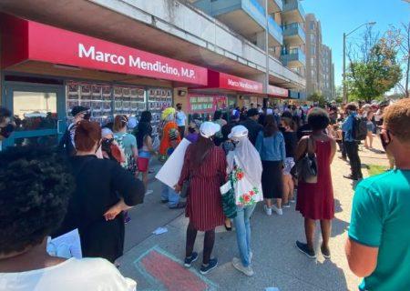 برپایی تظاهرات در تورنتو برای تغییرحقوق کارگران موقت