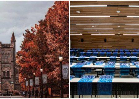 دانشگاه تورنتو برای استقبال از دانشجویان آماده میشود