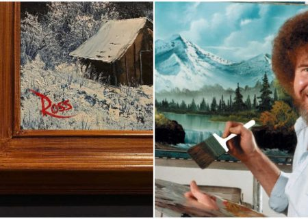 اولین نمایشگاه آثار باب راس در کانادا