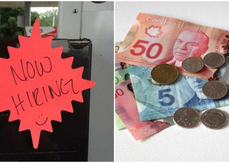 ایجاد یک میلیون شغل در کانادا