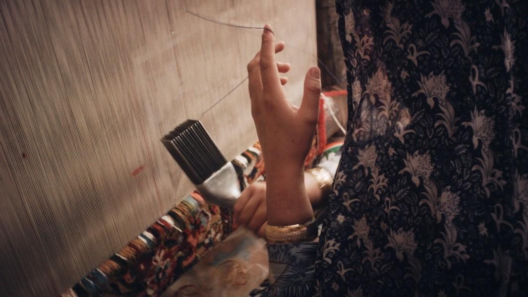 قالی بختیاری در جشنواره سنتهای جهانی