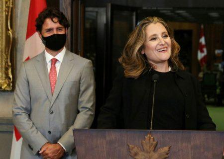 کریستیا فریلند، وزیر جدید دارایی کانادا شد