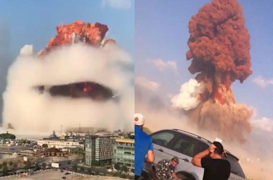 ویدیو: انفجار در بندر بیروت
