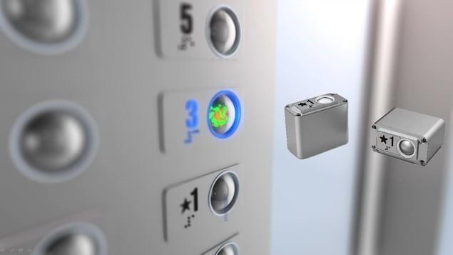 دکمه آسانسور آنتی باکتری ساخته شد