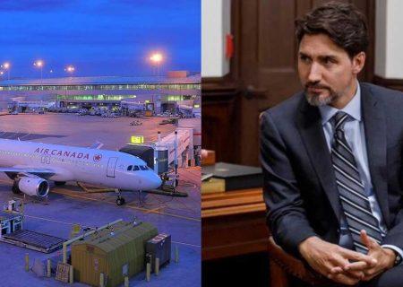 تمام پروازهای کانادا به مقاصد جنوبی لغو شد