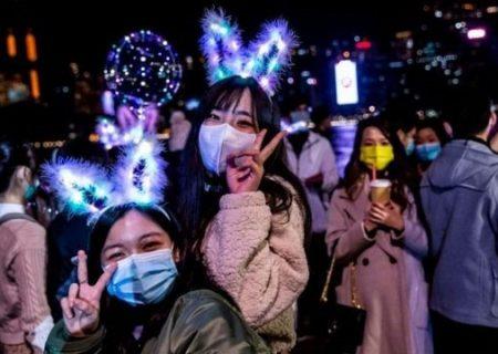 تصاویر جشن سال نو از سراسر جهان