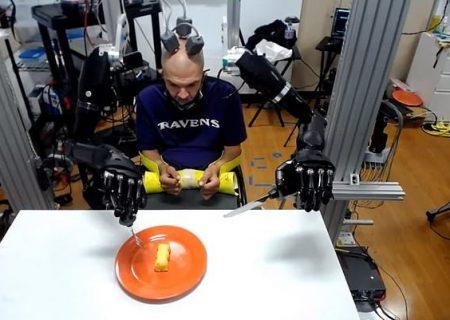 دست و بازوهای رباتیک به کمک افراد كمتوان میآيند
