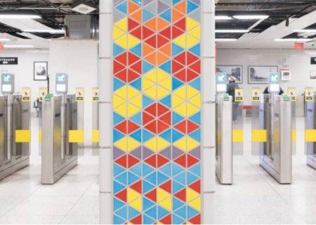 بازی پک-من در ایستگاه مترو