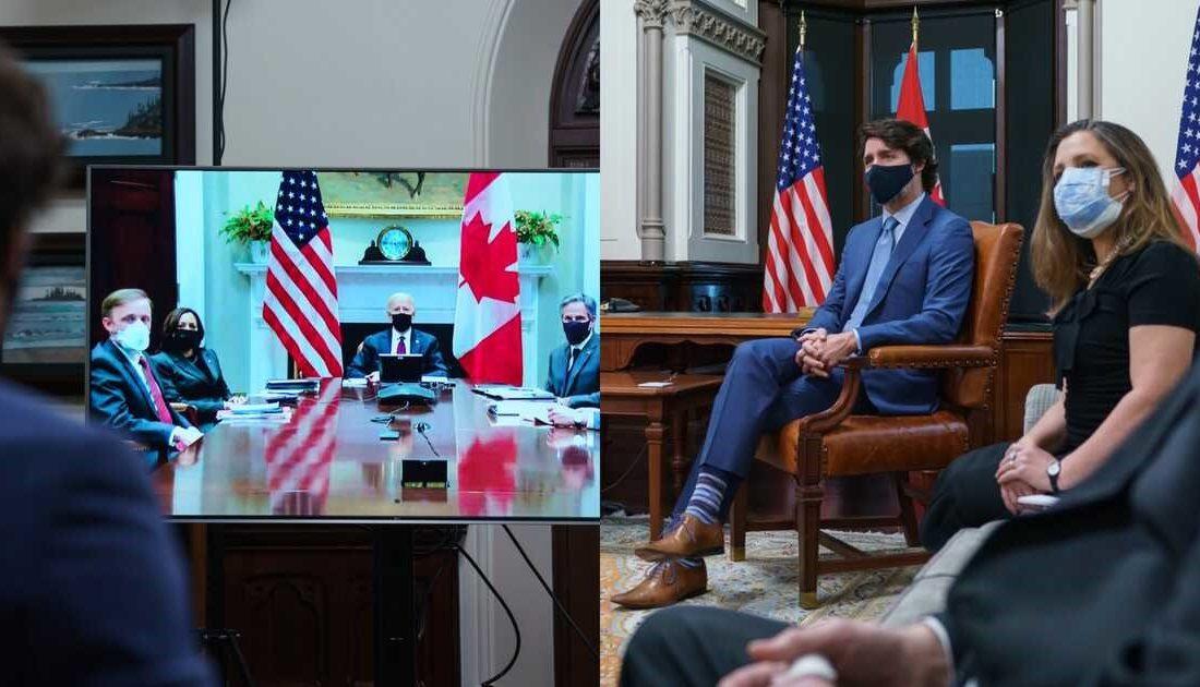 بایدن: دل و زبان آمریکا و کانادا یکی است