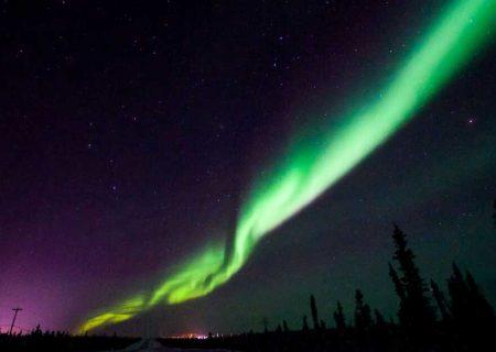 تماشای زنده شفقهای قطبی