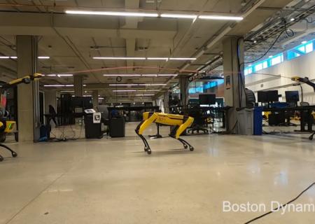 به ظرافت پرش ربات از روی طناب
