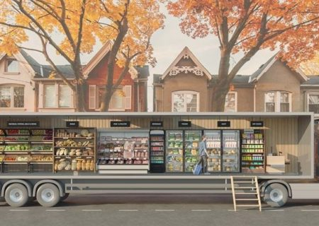 مغازههای سیار در تورنتو