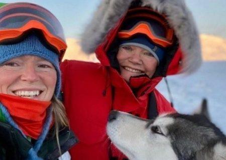 اقامت یکساله دو زن تنها در قطب شمال