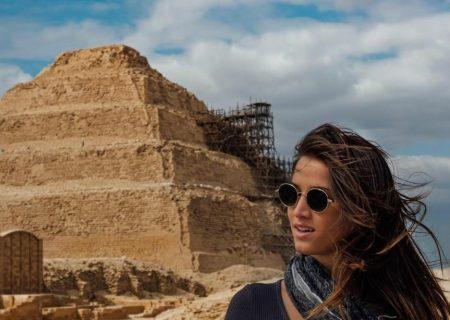 جوانترین زن گردشگر جهان