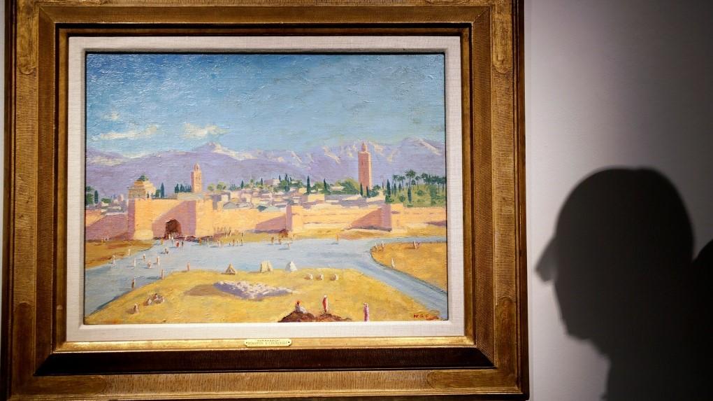 نقاشی چرچیل ۱۱.۵ میلیون دلار فروش رفت