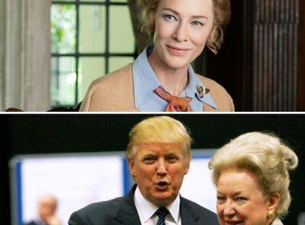 کیت بلانشت خواهر دونالد ترامپ میشود
