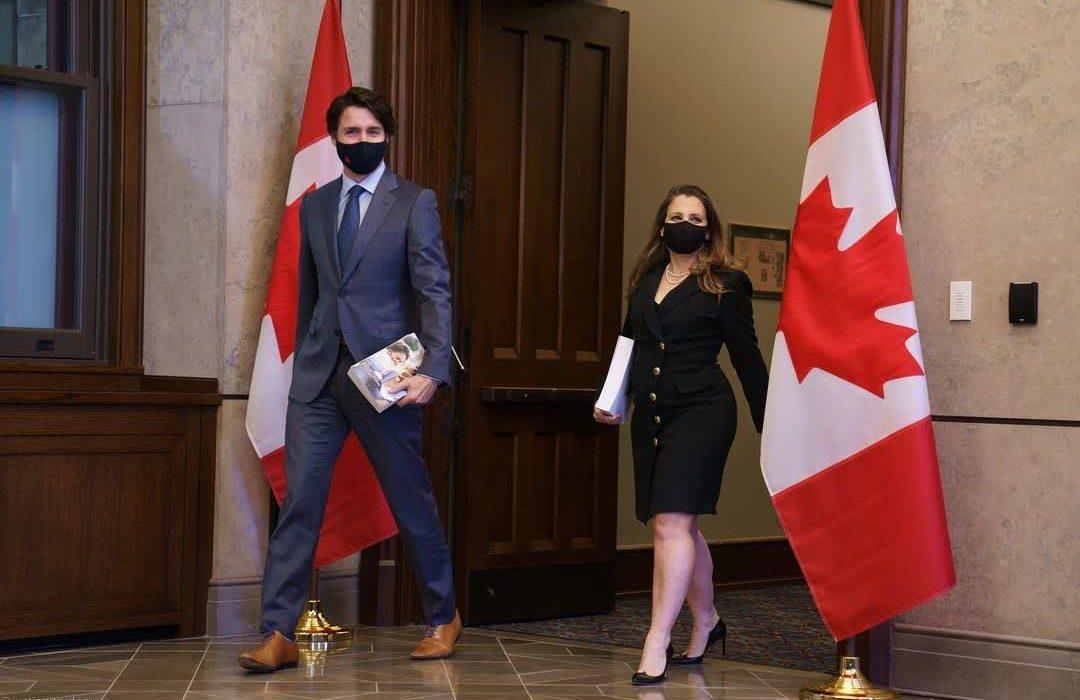 اعلام بودجه سال ۲۰۲۱ در کانادا