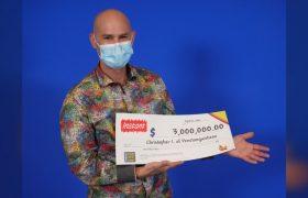 برنده ۳ میلیون دلاری لاتاری